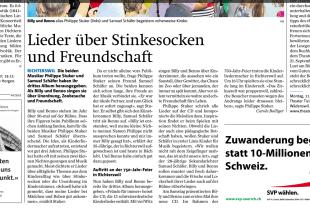 Zürichsee Zeitung vom September 15
