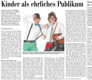 Höfner Tagblatt vom 22.1.14