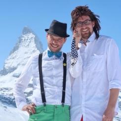 Billy und Benno in Zermatt